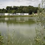 l'étang des vignes des côtes et le laboratoire ALK