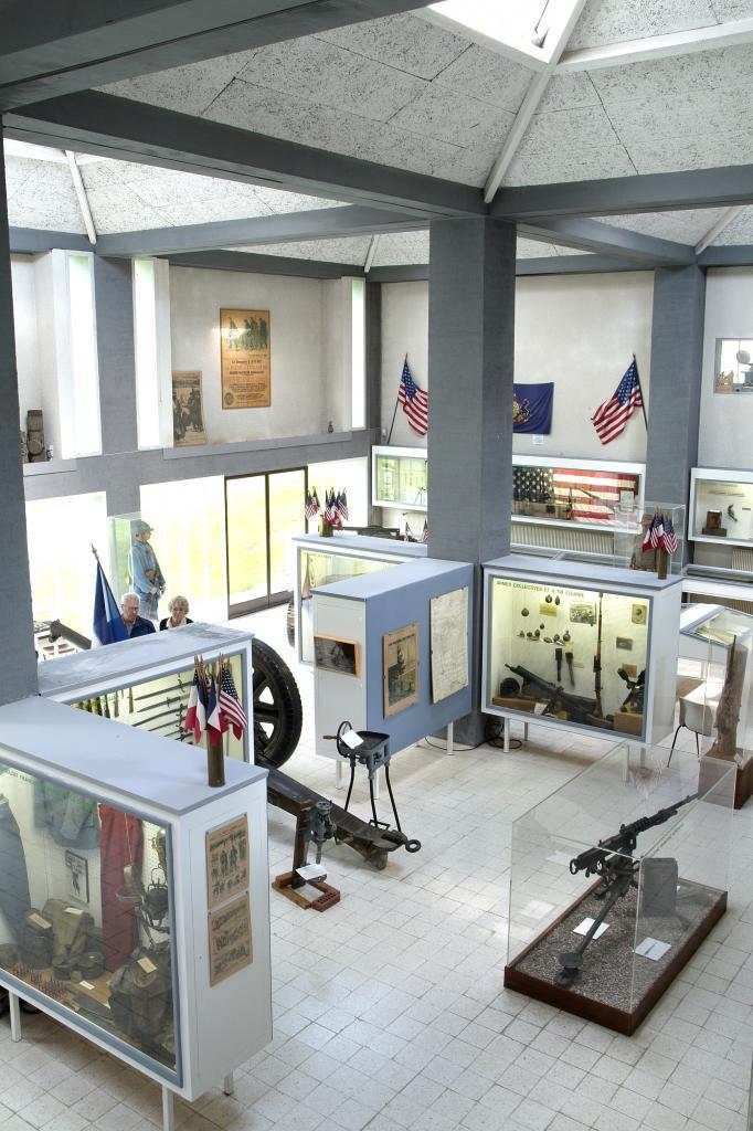 grande salle du musée d'Argonne