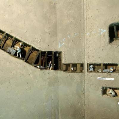 guerre des mines au musée d'Argonne