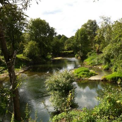 la rivière Aire